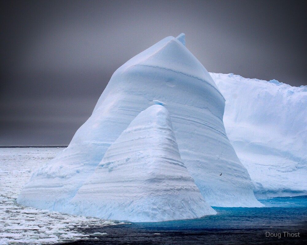 Weathered Iceberg by Doug Thost