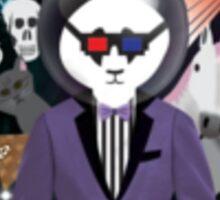 Pimpin Panda Sticker