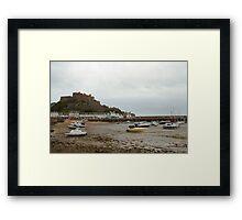 Mont Orgueil Castle, Gorey Framed Print