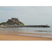 Mont Orgueil Castle, Gorey Photographic Print