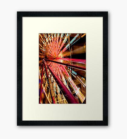 """""""Ferris Wheel I"""" Framed Print"""