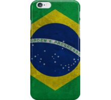 Brazilian Grunge Flag iPhone Case/Skin