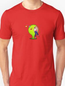 Mystery - Sitting Girl Unisex T-Shirt