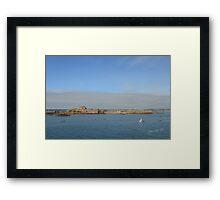 Elizabeth Castle, St Helier Framed Print