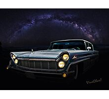 Alien Lincoln Roswell Saturday Night Photographic Print