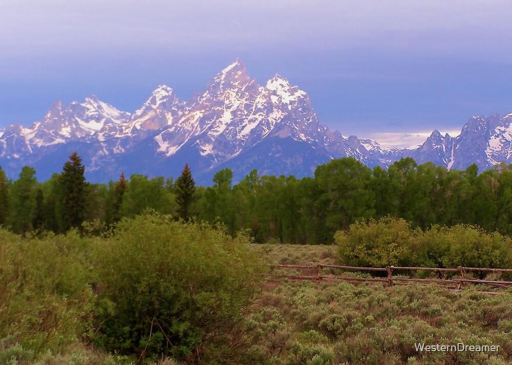 ~ Teton Mountain Sunrise ~ by WesternDreamer