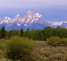 ~ Teton Mountain Sunrise ~ by WesternDreamer