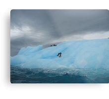 Storm brewing in Antarctica Metal Print