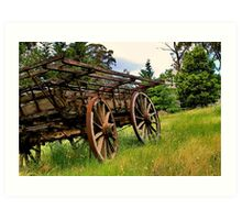 """Weathered Wagon"" Art Print"