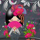Kokeshi Doll *Journey* by Moonlake