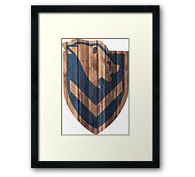 Windhelm Shield Framed Print
