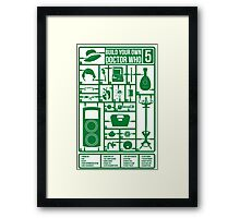 Build Your Own Doctor Who 5 Framed Print