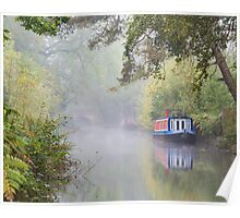 The Basingstoke Canal Poster