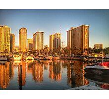 Honolulu Reflections Photographic Print