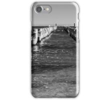 Pier today, gone tomorrow iPhone Case/Skin