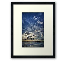 Cloud Evolution Framed Print