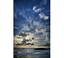 Cloud Evolution Photographic Print