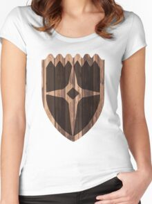 Dawnstar Shield Women's Fitted Scoop T-Shirt