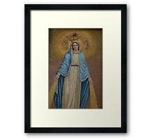 Virgin Mary Framed Print