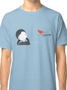lil girl and red birdy as a tee Classic T-Shirt