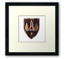 Winterhold Shield Framed Print