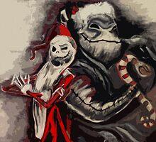 Nightmare Before Christmas - original by Colin Bradley