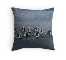 Group Formation Throw Pillow