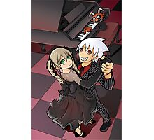 Soul Eater - Maka and Soul Dancing Photographic Print