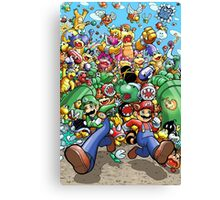 Super Mario Bros. 3 - RUN!!! Canvas Print