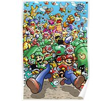 Super Mario Bros. 3 - RUN!!! Poster