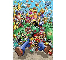 Super Mario Bros. 3 - RUN!!! Photographic Print