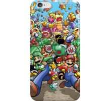Super Mario Bros. 3 - RUN!!! iPhone Case/Skin