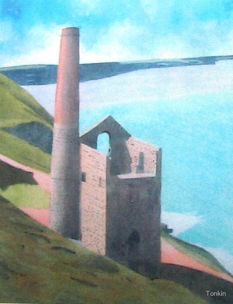 Wheal Coats Tin Mine, Cornwall by Tonkin