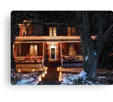 ~ It's beginning to look a lot like Christmas ~ Canvas Print