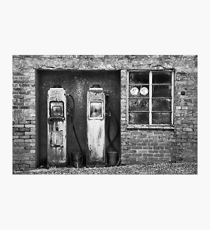 Pumps at Maenclochog Photographic Print