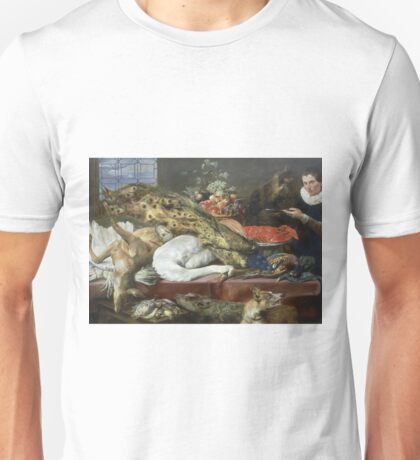 Frans Snyders - Larder With A Servant Unisex T-Shirt