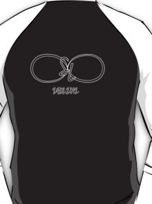 Custom Collection #04: Infinity Initials + Date T-Shirt