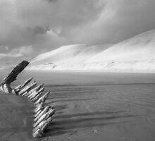 Rhossili Beach by Hywel Harris