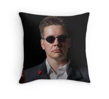The Hit Man Throw Pillow