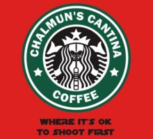 Chalmun's Cantina Coffee Kids Clothes
