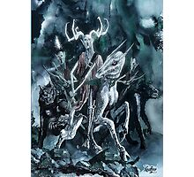 Arawn The Horned King Photographic Print