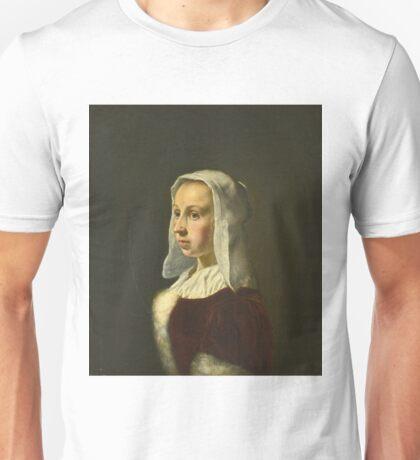 Frans Van Mieris The Elder - Portrait Of The Artists Wife, Cunera Van Der Cock Unisex T-Shirt