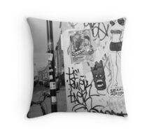 E1 CORNER Throw Pillow