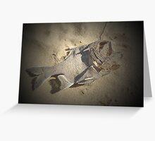 fish folly Greeting Card