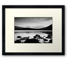 Snowdon Horseshoe at Dusk Framed Print