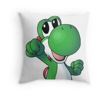 Super Mario Bros. - Yoshi Throw Pillow