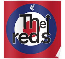 The Reds - Liverpool FC Mods Poster