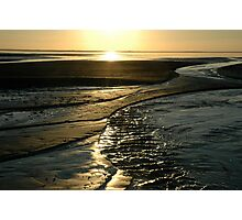 Sunset Coastline Photographic Print