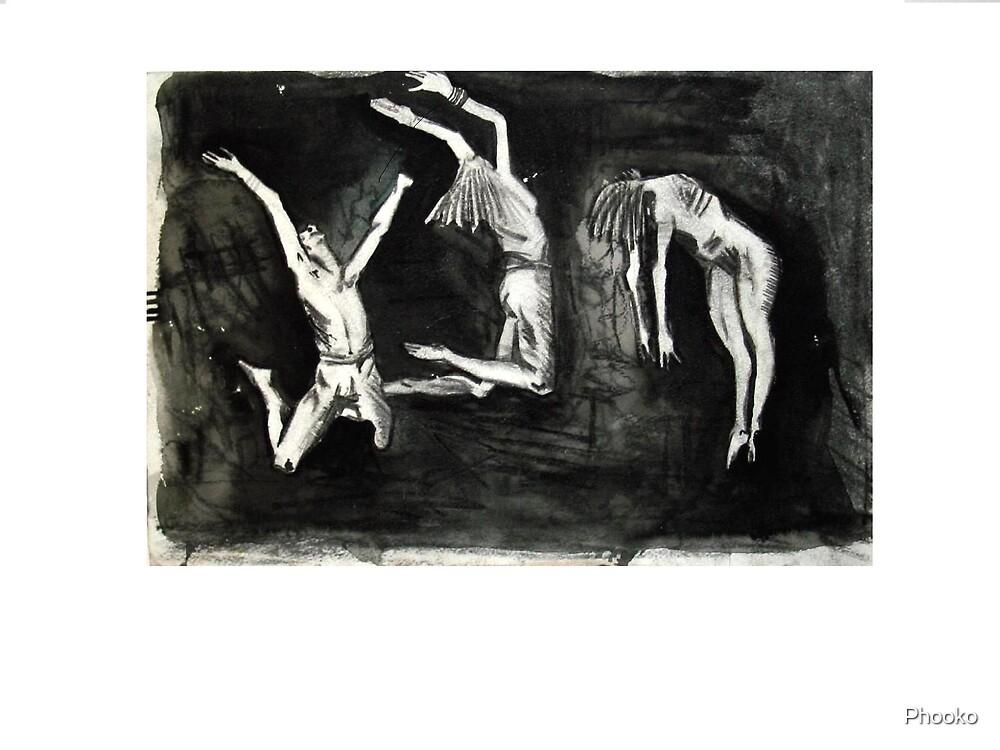 dancing in the dark by Phooko