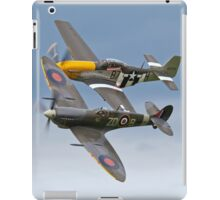 Spitfire & P-51 Mustang iPad Case/Skin